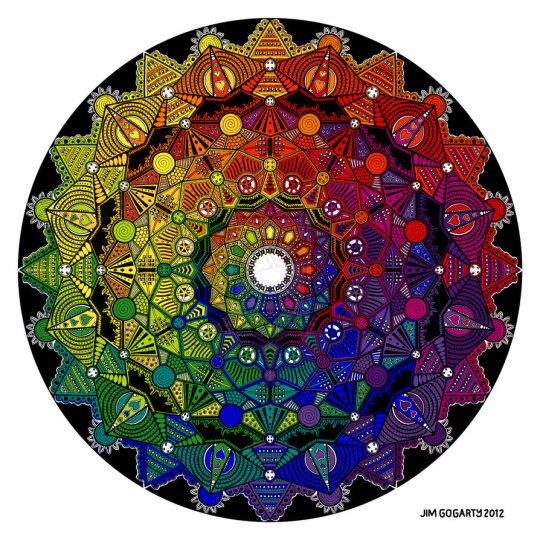 LIVING SUCCESS 3D--MANDALA
