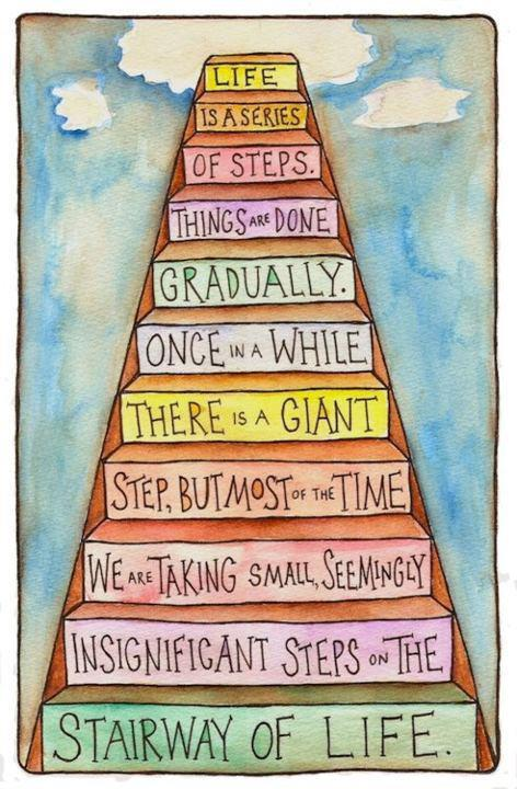 LIVING SUCCESS 3D--STAIRWAY OF LIFE