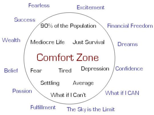 LIVING SUCCESS3D--COMFORT ZONEl