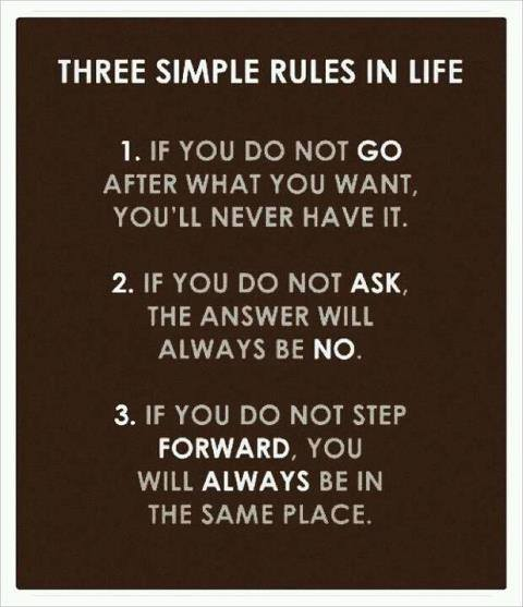 LIVING SUCCESS 3D--3 RULES