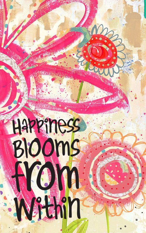 LIVING SUCCESS 3D-BLOOMING HAPPINESS