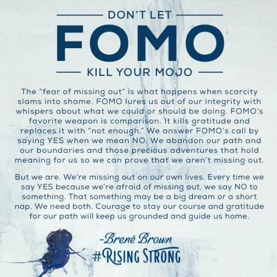 LIVING SUCCESS 3D--FOMO KILLS MOJO